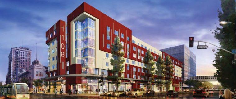Two-story LA Building