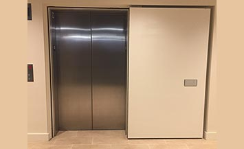 elevator shaft doors
