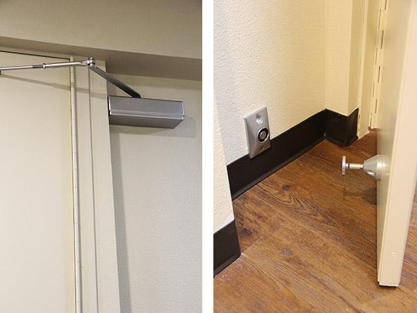 Door Closer & Magnetic Door Holder
