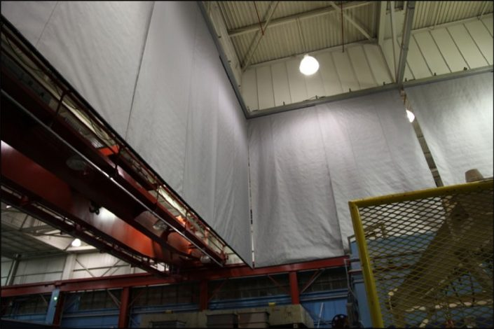 Draft Curtains Static Curtains For Smoke Containment Door Systems