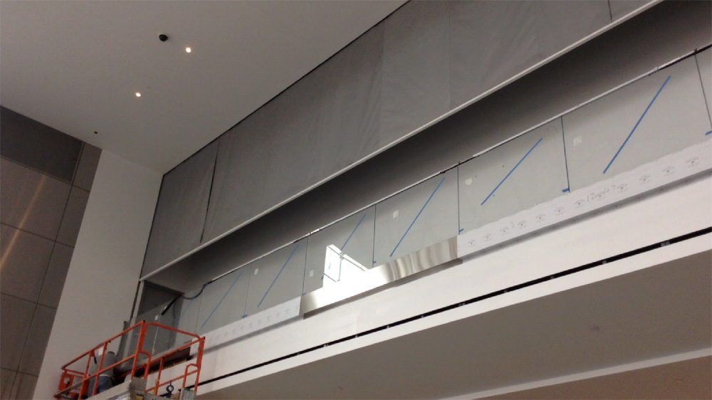 3 Hr Automatic Fire Protective Smoke Curtain Door Systems 174