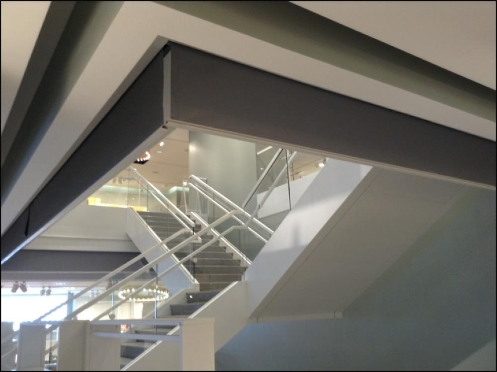 Escalators \u0026 Stairs With Fire \u0026 Smoke Curtains & Escalators \u0026 Stairs With Fire \u0026 Smoke Curtains - Door Systems