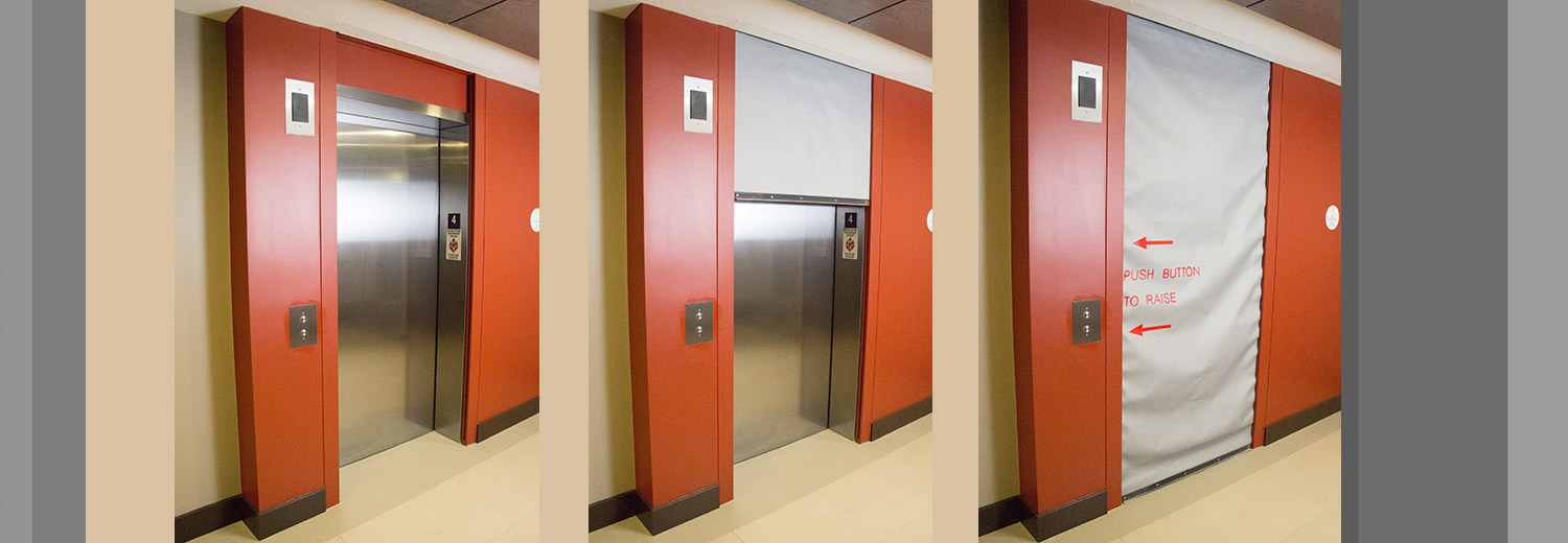 exit fire asp staircase door package
