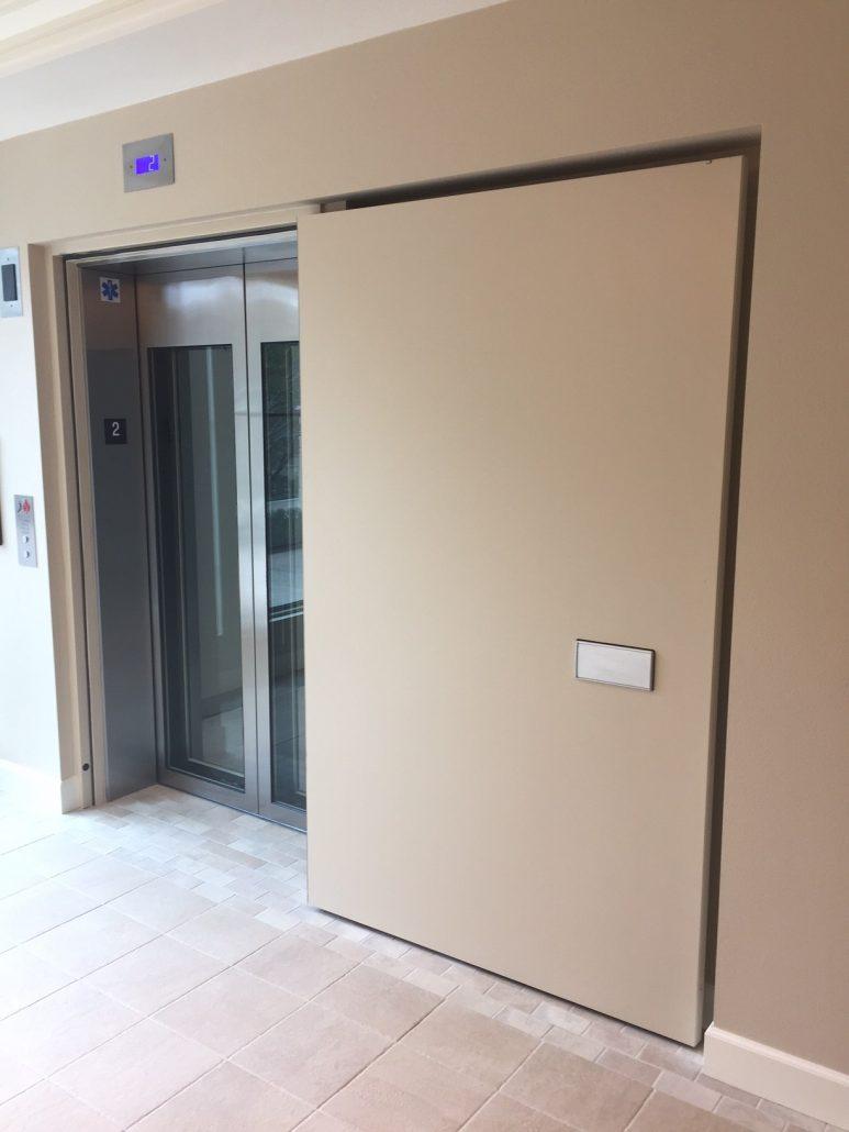CAD Details u0026 More Info & Elevator Shaft Doors Fire Rated Doors Smoke Doors - Door Systems®