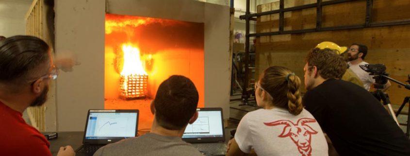 fire testing lab