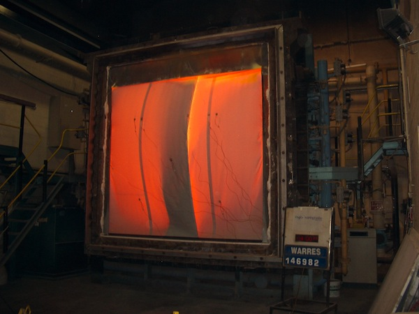 Fire Test Smoke Curtain