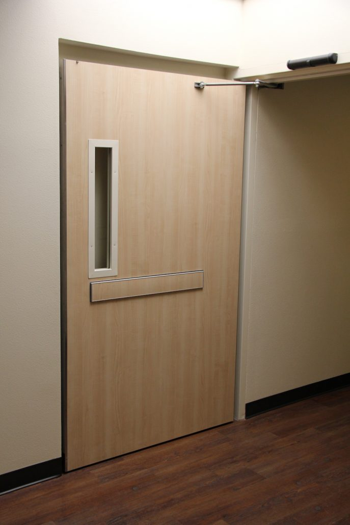 Hospital Doors Medical Applications Double Egress Doors
