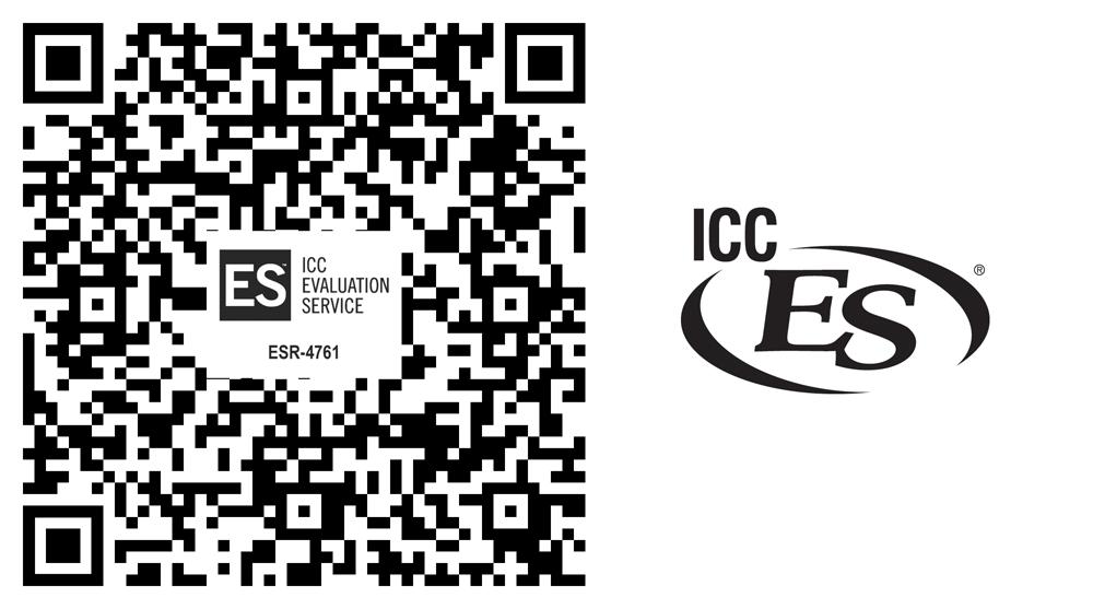 ICC-ESR #4761 QR Code