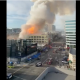 Buildings fires in downtown los angeles