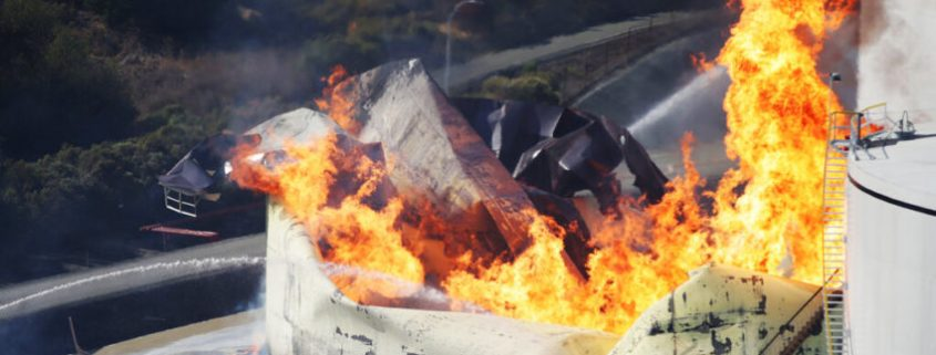 CA Fuel Fire