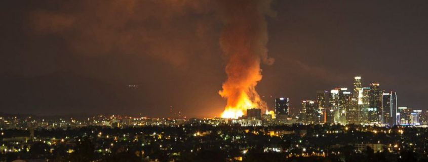 LA Commercial Fire