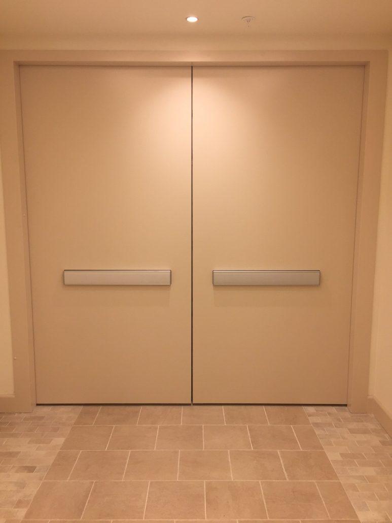 Cross Corridor Fire Doors Door Systems 174 Integrated