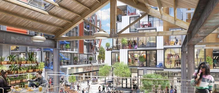 Arts District in LA
