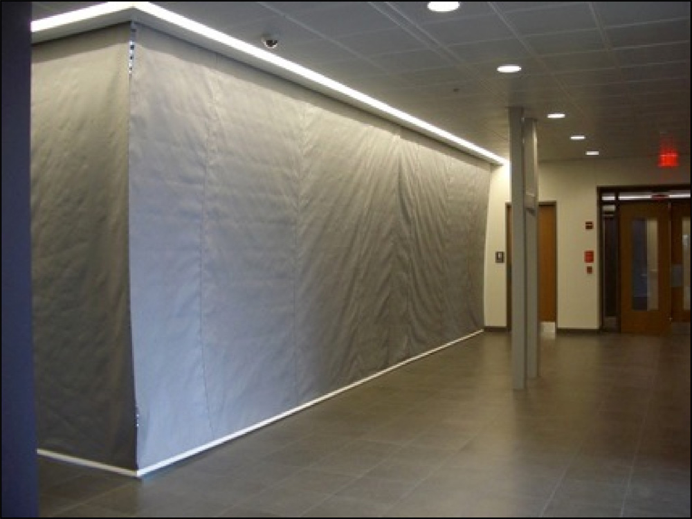 1 Hr Automatic Fire Protective Smoke Curtain Door Systems 174