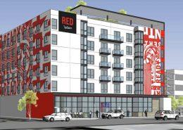 New Hotel on Hewitt Street