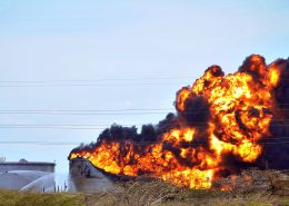 Industrial Smoke & Fire