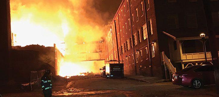 Lofts Fire