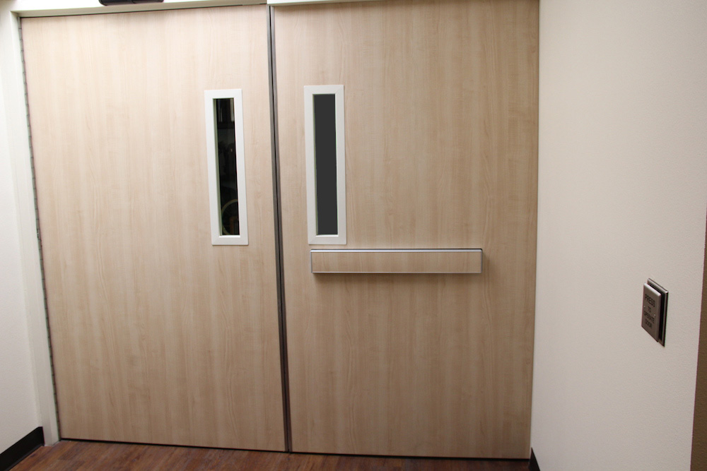 Hospital Doors Medical Applications Double Egress Doors