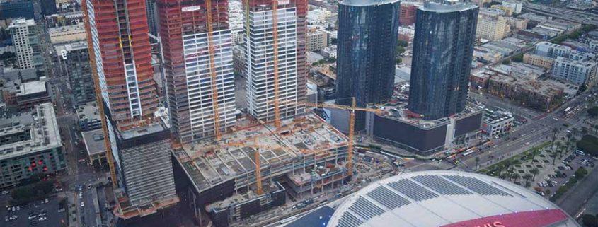 new building near staples center