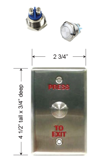 DSI Push Button Egress
