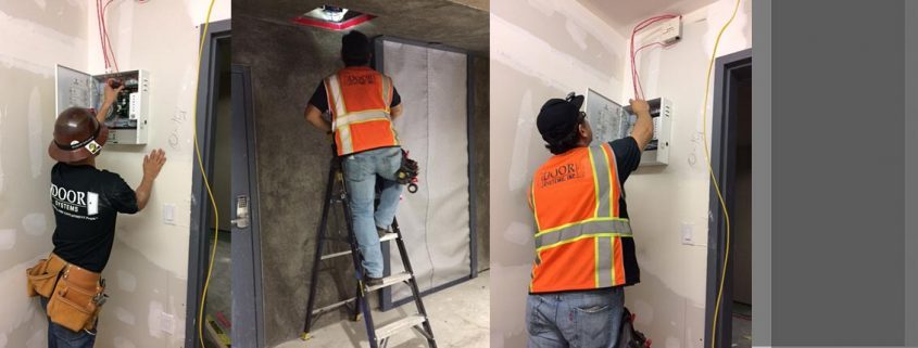 Service & inspection of smoke curtains
